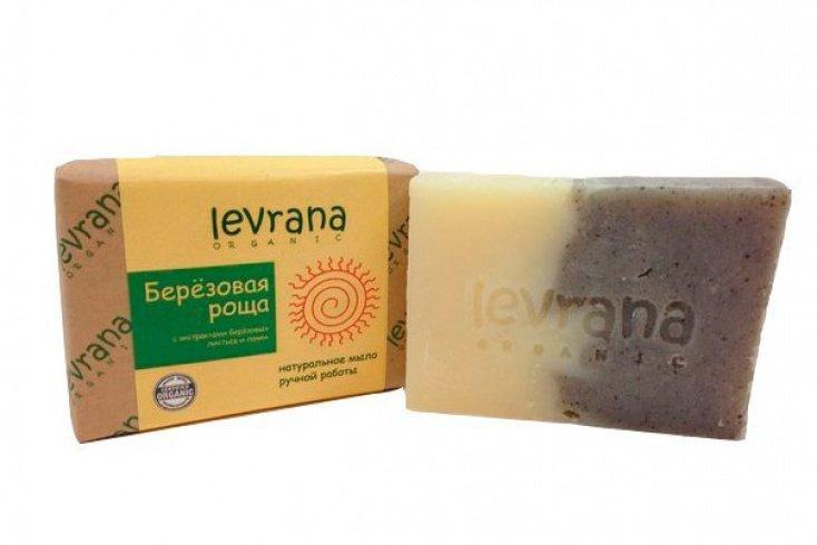 Натуральное мыло ручной работы Levrana «Березовая роща»