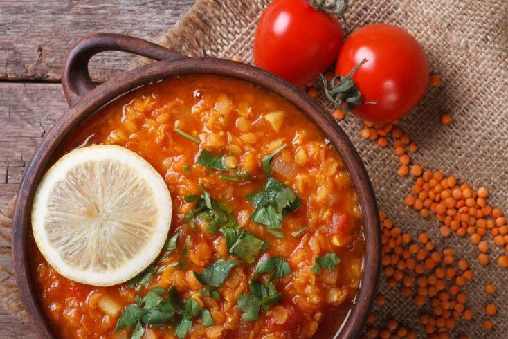 Чечевица и овощи — прочь анемия