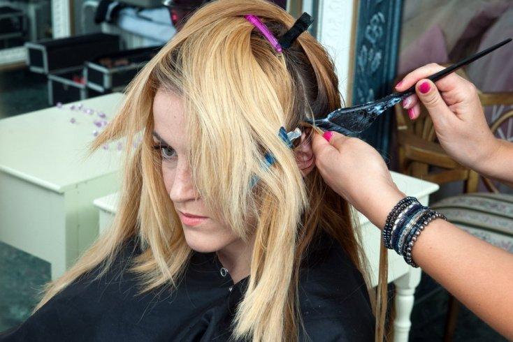 Окрашивание волос: делаем все правильно