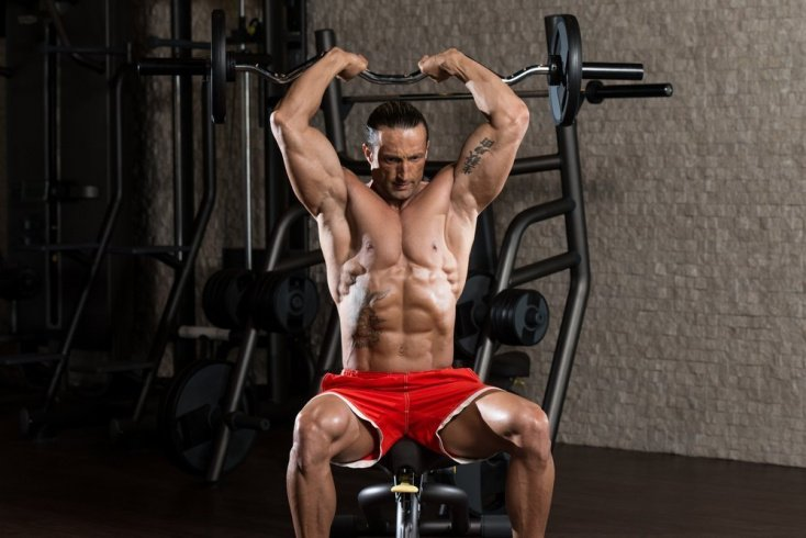 Фитнес в тренажерном зале: упражнения со штангой