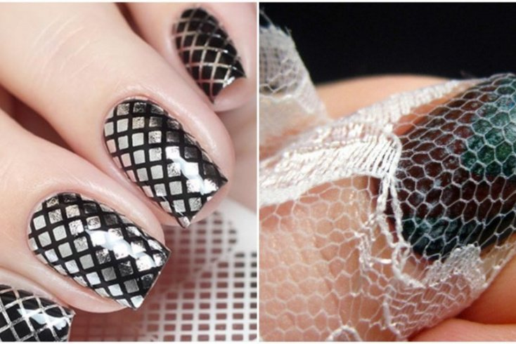 8. Рисуем «соты» на ногтях Источник: mtdata.ru