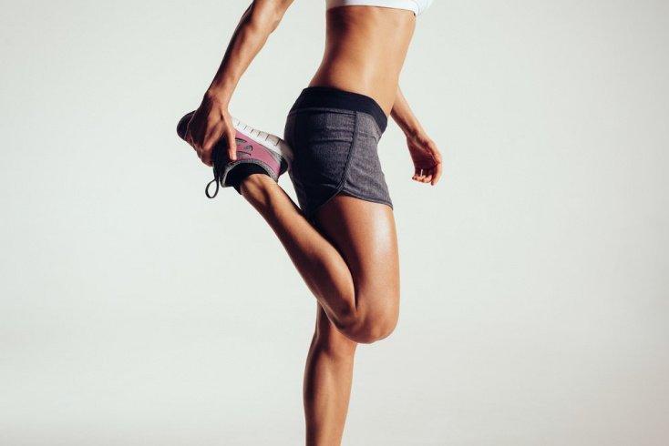 Физические нагрузки и питание для стройных ног