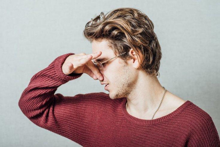 Утрата нюха при поражении обонятельного нерва