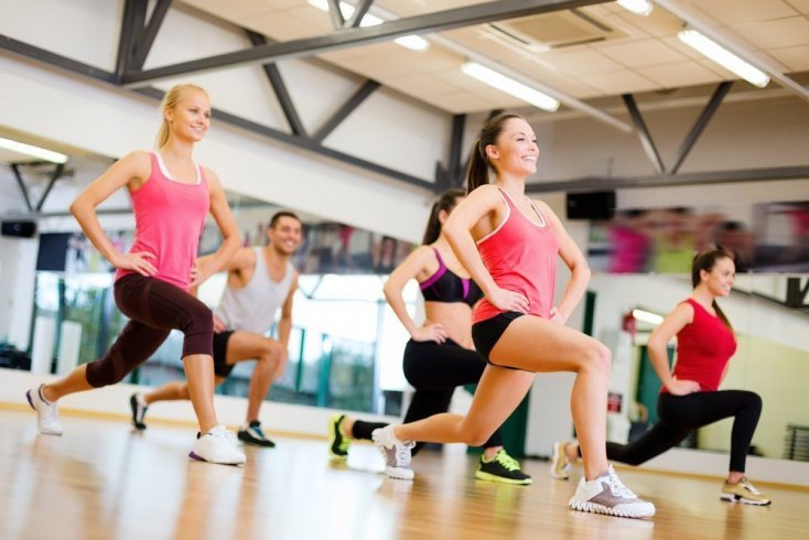 Комплексы упражнений для шейпинг-тренировки
