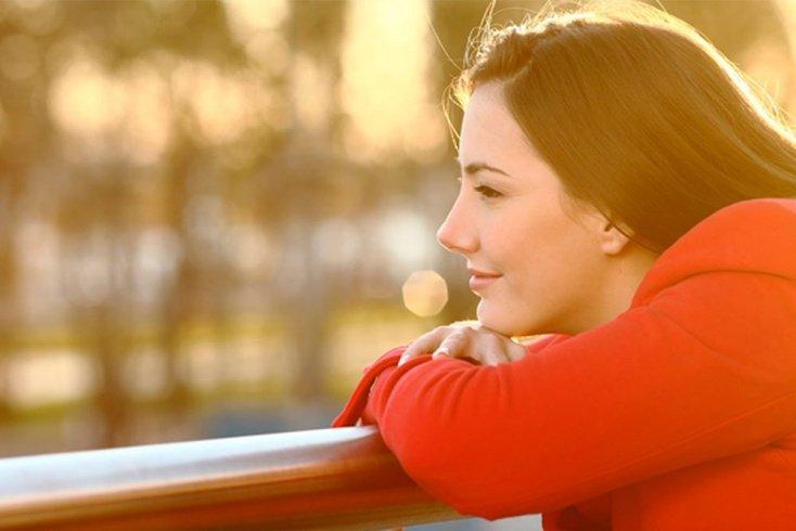 Даже если в жизни есть проблемы, данный момент спокоен и благостен