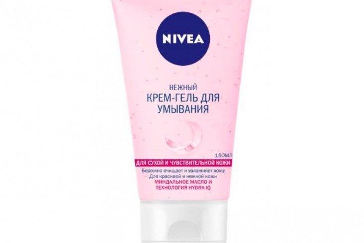 Очищающий крем-гель для умывания сухой и чувствительной кожи Nivea Источник: novex-trade.ru