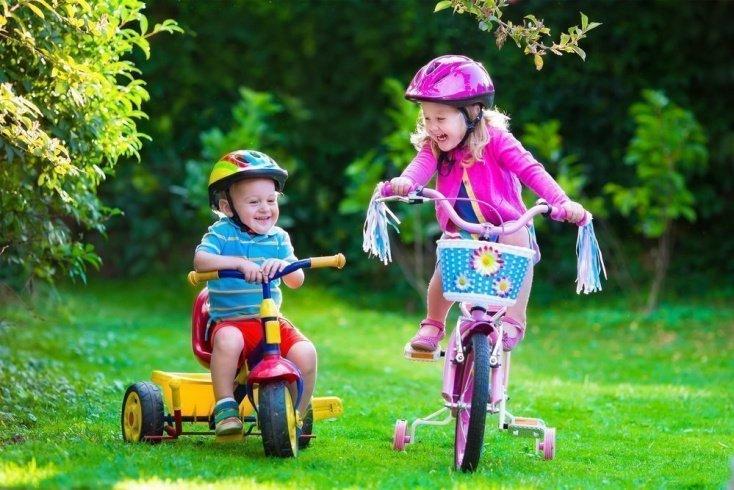 Перевозка малышей до 3-х лет на велосипеде