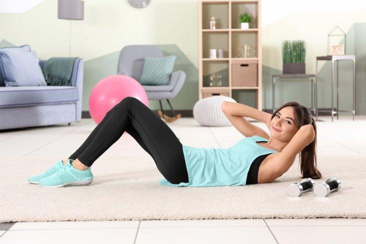 Подборка упражнений для мышц живота