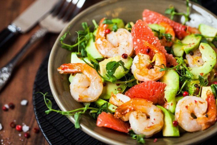 Простые рецепты из морепродуктов