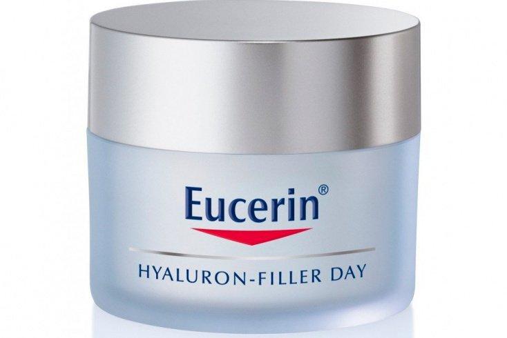 Концентрированный крем с гиалуроновой кислотой Eucerin Hyaluron-Filler Источник: farmaciadans.com