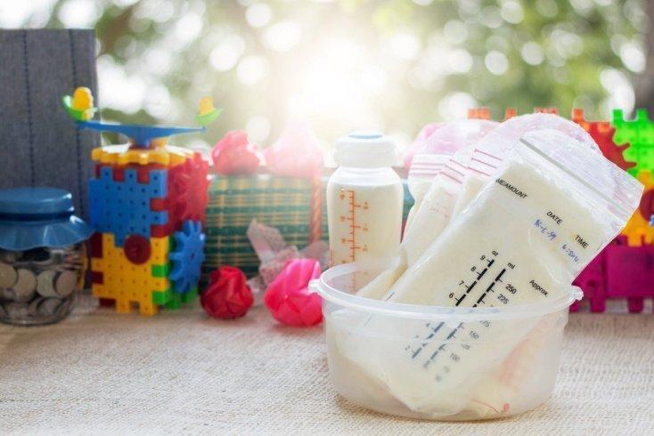 Правила разморозки грудного молока
