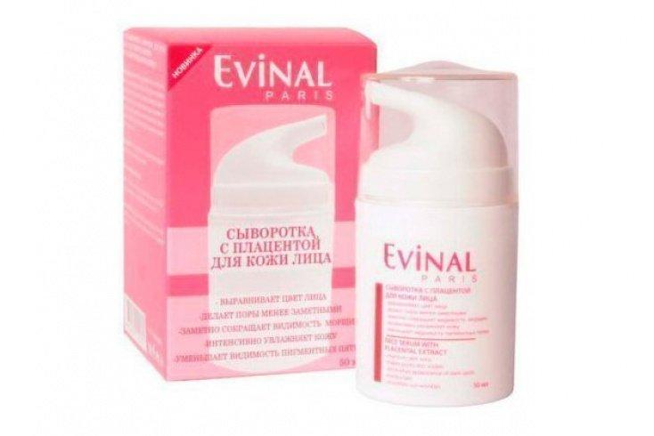 Омолаживающая сыворотка для лица EVINAL с экстрактом плаценты Источник: static.eldorado.ru