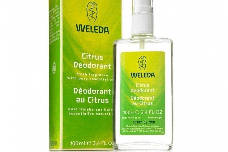 Дезодорант «Цитрус», Weleda, 100 мл Источник: myhealthwarehouse.com.au