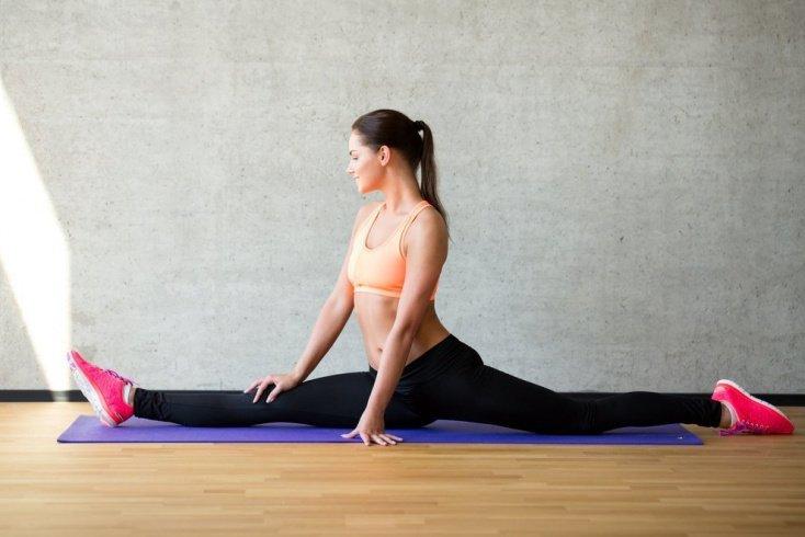 Фитнес-упражнения для подготовки к шпагату