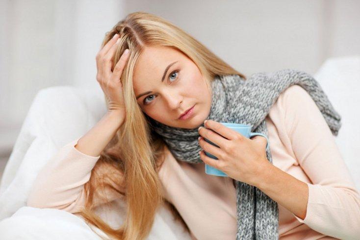 Боль в горле, насморк и другие признаки ОРЗ