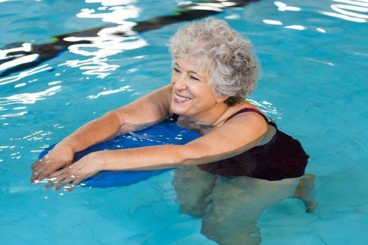 Фитнес-тренировки в бассейне