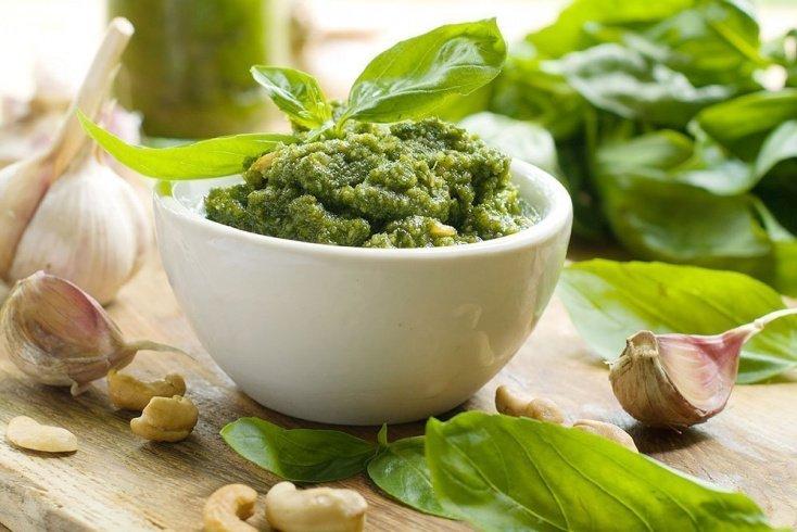 Вкусные соусы на основе шпината в рационе питания