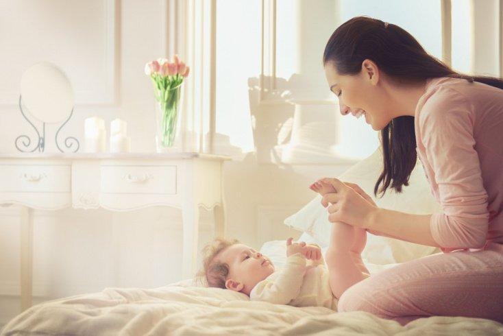 Когда заниматься с малышом?