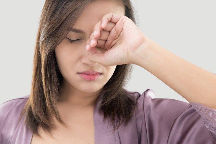Ведущие симптомы при блефарите