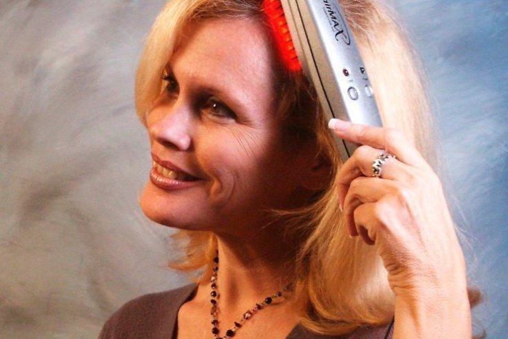 Лазерная расческа для волос: панацея или фикция? Источник: anagen.net