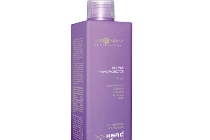 Разглаживающее термозащитное молочко Hair Company Head Wind No Frizzy Liss Milk Thermoprotector, 250 мл Источник: moyo.ua