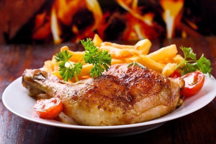 Курица по-средиземноморски