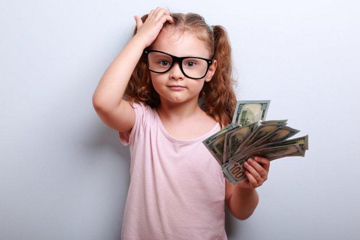 Отношение к деньгам и ребенок