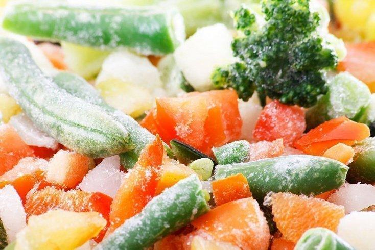 Правильный выбор замороженных овощей