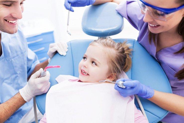 Здоровые зубы у малыша