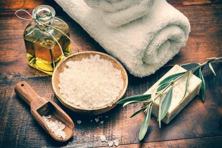 Морская соль для красоты и здоровья кожи