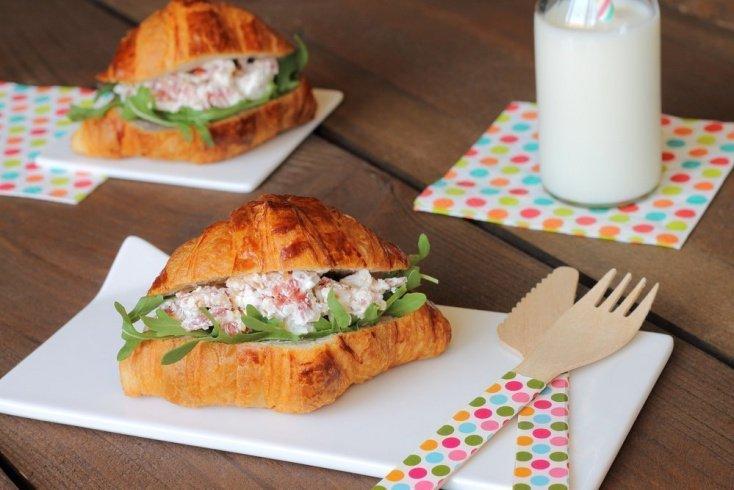 Бутерброд с паштетом из овощей