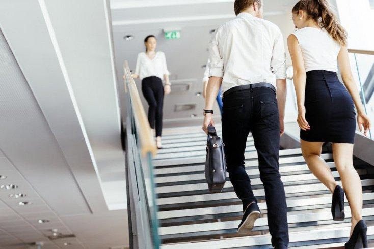 Привычка 1: отказ от лифта