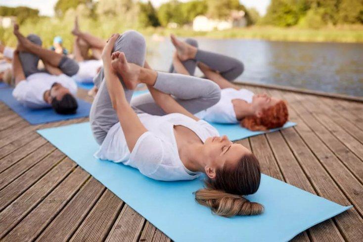 Форма одежды для выполнения физических упражнений йоги
