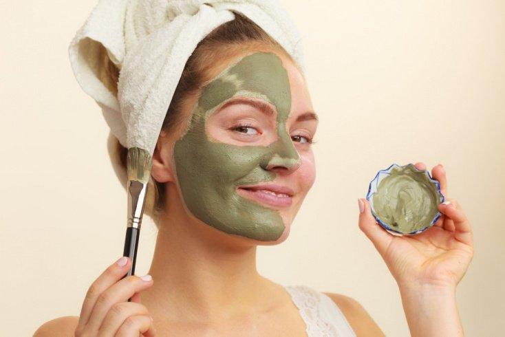 Какую пользу коже лица приносит зеленая глина