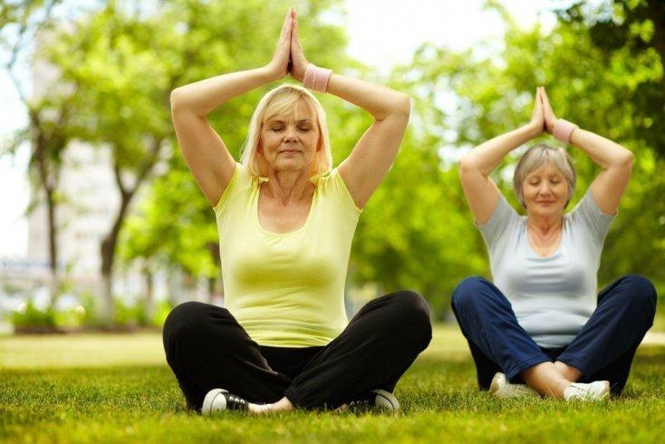 Йога и преклонный возраст