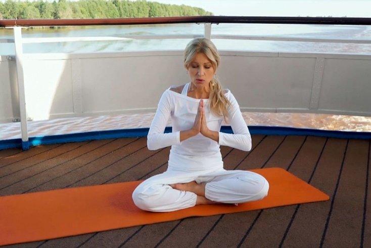Ирина Нельсон о медитации и духовных практиках Источник: jv.ru