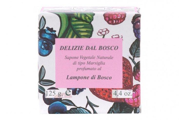 Натуральное растительное мыло Iteritalia с ароматом лесной малины