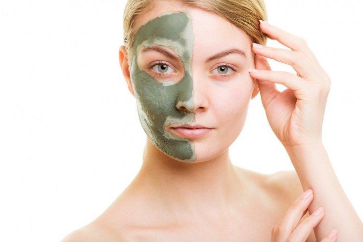 Рецепты целебных масок для лица из зеленой глины
