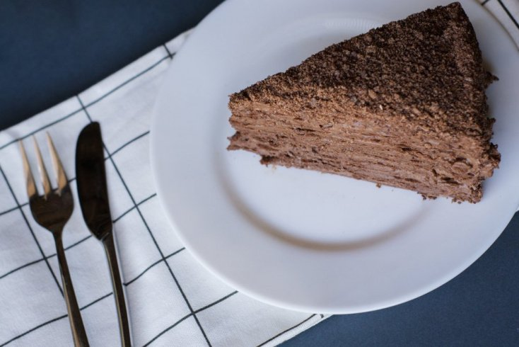 Рецепт шоколадного наполеона: оригинальный десерт