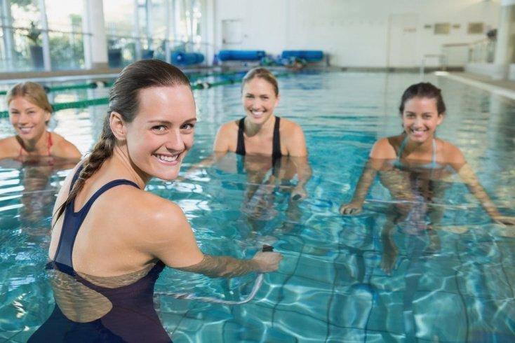 Комплекс упражнений для занятий в воде