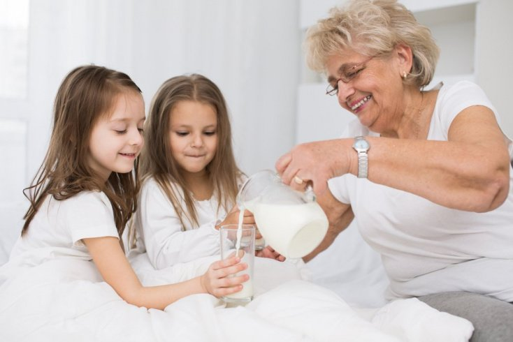 Молоко – основа питания ребенка