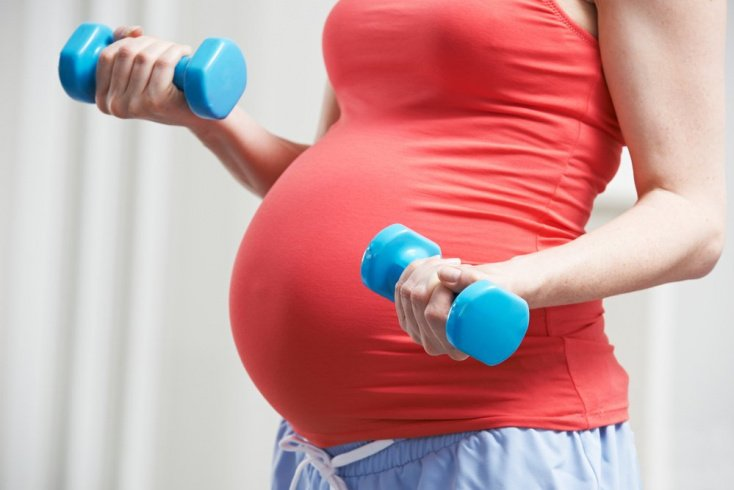 Фитнес: упражнения для будущих мам