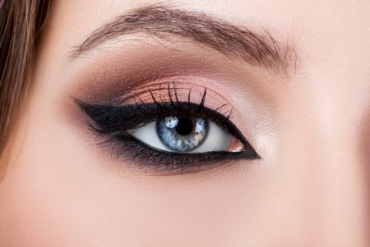 Макияж cat eye