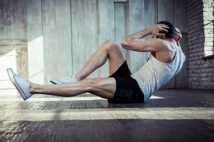 Базовый комплекс физических упражнений для похудения живота и боков