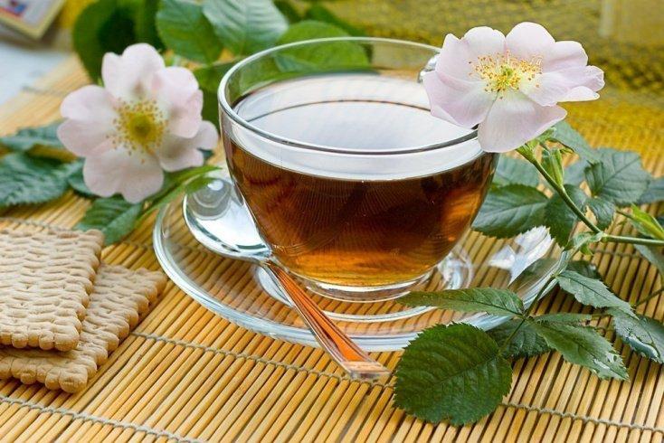 4. Горячий чай