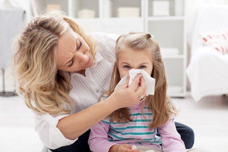 Аллергические риниты: заложенность и насморк