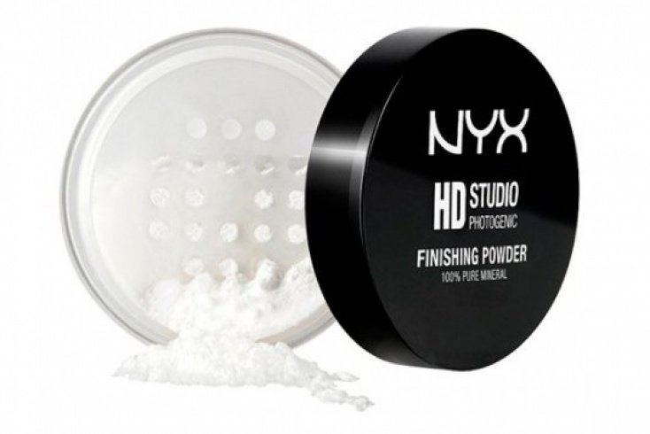 Рассыпчатая пудра для лица Nyx Studio Finishing Powder, 8 г Источник: nyxcosmetic.com.ua