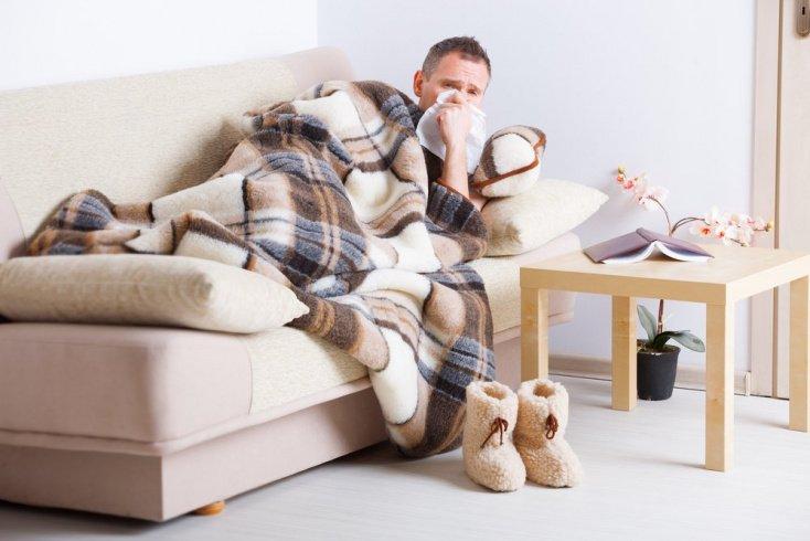 Что происходит с больным при простуде?