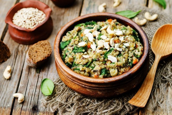 Питание для похудения с бобовыми