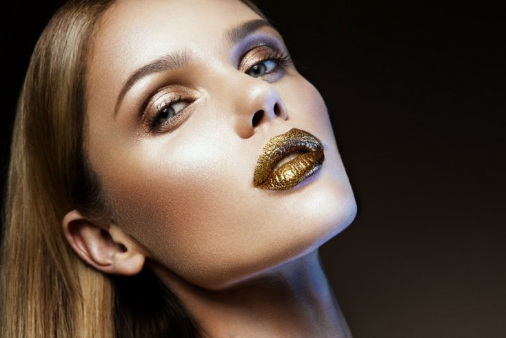 Идеи макияжа глаз с металлическими оттенками
